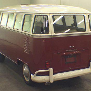Volkswagen Bulli T1 rot