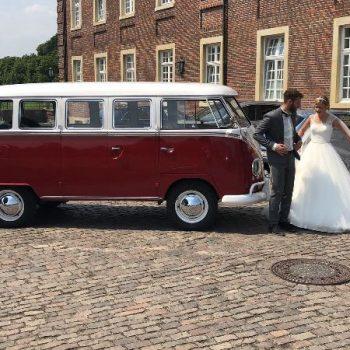 Hochzeitsbulli Volkswagen T1 Bulli hippiebus Oldtimer