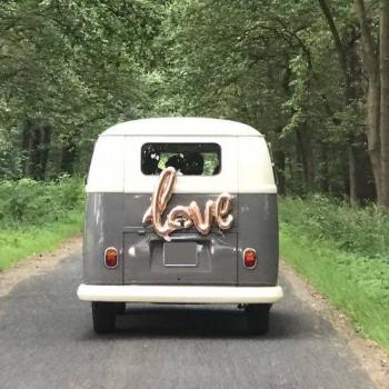 Love Bulli als Hochzeitsbus oder Brautauto